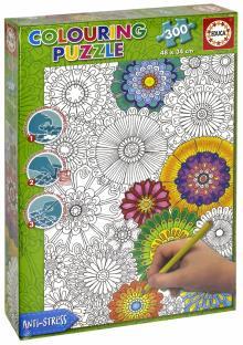 """""""Пазл-раскраска """"Цветы"""" (300 деталей) (17090)"""" купить ..."""