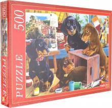 Puzzle-500 ЩЕНКИ ТАКСЫ (Ф500-5145)