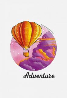 """Блокнот """"Adventure. Скетчи Лизы Красновой"""" (32 листа, линейка)"""