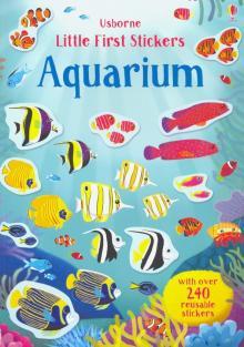 Little First Stickers Aquarium - Hannah Watson