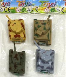 Набор инерционных игрушек. Танки (6385-4)