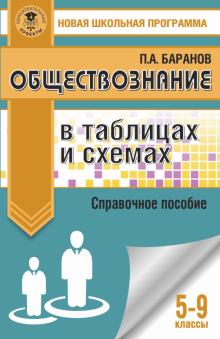 Петр Баранов: Обществознание. 5-9 классы. В таблицах и схемах. Справочное пособие