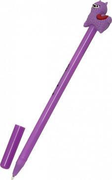 Ручки гелевые простые синие