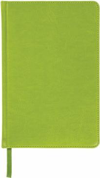 Ежедневник недатированный. А6, 136 листов,  Rainbow зеленый (111689)