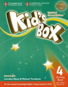 Kid's Box. Level 4. Activity Book with Online Resources - Nixon, Tomlinson