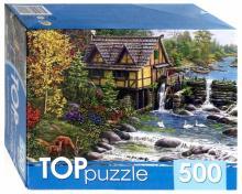 "TOPpuzzle-500 ""Водяная мельница"" (ХТП500-4229)"