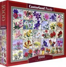 Puzzle-1000 Цветы.Коллаж (C-104338)