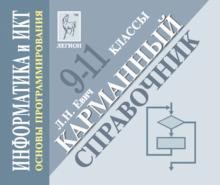 Информатика и ИКТ. 9-11 классы. Основы программирования. Карманный справочник