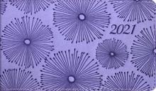 """Еженедельник датированный на 2021 год """"Виннер, сиреневый"""" (64 листа, 150х87 мм, линия) (52848)"""