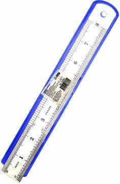 Линейка металлическая 20 см (Л-6762)