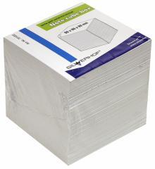 Блок для записей (90х90х90 мм, белый) (701002)