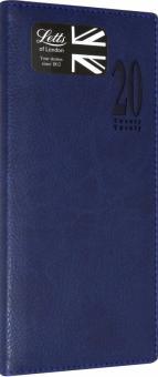 Еженедельник на 2020 год MILANO, синий, искусственная кожа (412156020)