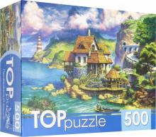 "TOPpuzzle-500 ""Прибрежный домик"" (ХТП500-6822)"