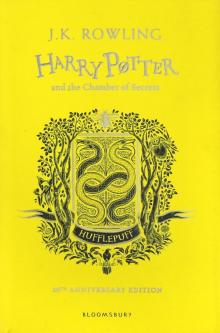 Harry Potter and the Chamber of Secrets - Hufflepuff Edition - Joanne Rowling