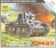 Немецкий легкий танк Pz.Kpfw.38 (T) (6130)